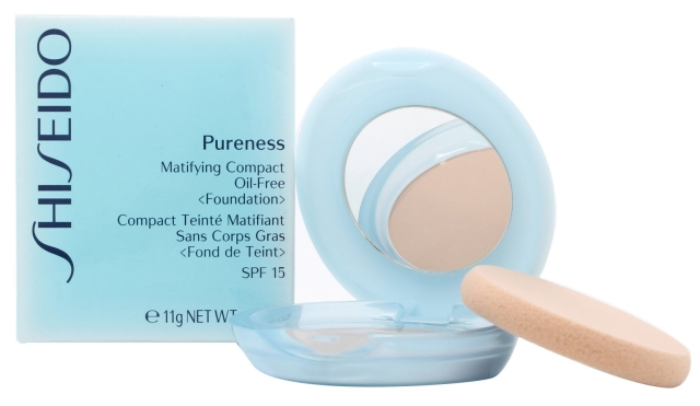 Shiseido Pureness Matifying Compact Oil-Free Found