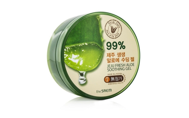 Корейский гель The Saem Jeju Fresh Aloe Soothing Gel
